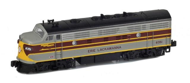 AZL 63012-2 Erie Lackawanna F7A #6351