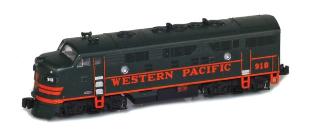 AZL 63015-2 Western Pacific F7A #921