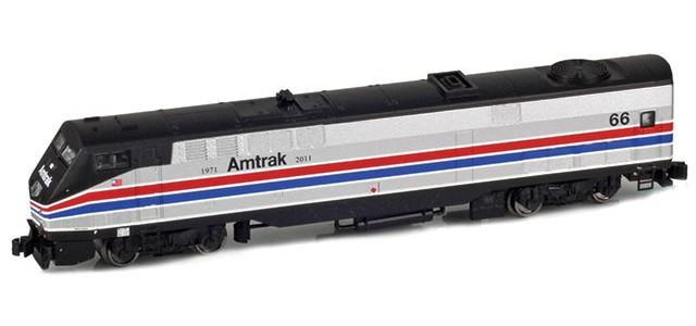 AZL 63508-1 GE P42 Genesis Amtrak Phase II Heritage #66