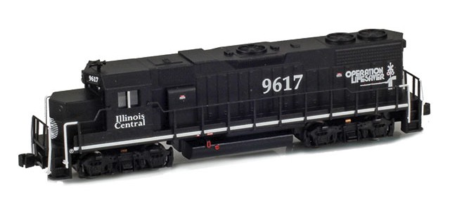 AZL 62514-1 GP38-2 Illinois Central | Operation Lifesaver #9617