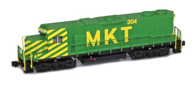 AZL 62525-2 MKT Missouri-Kansas-Texas Railroad GP38-2 #311