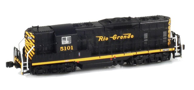 AZL 62011-1 GP7 D&RGW Closed Skirting #5101