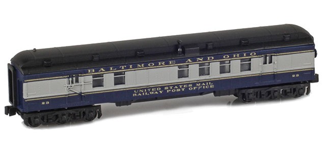 AZL 71910-1 B&O RPO US MAIL RAILWAY POST OFFICE #23
