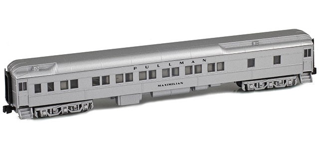 AZL 71018-2 BURLINGTON 12-1 Pullman Sleeper   MAXIMILIAN