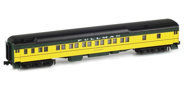 AZL 71005-1 Pullman CNW 12-1 Heavyweight Sleeper Car | EVANSTON