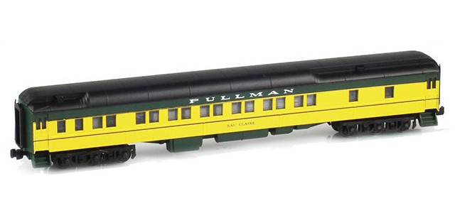 AZL 71005-3 Pullman CNW 12-1 Heavyweight Sleeper Car | EAU CLAIRE