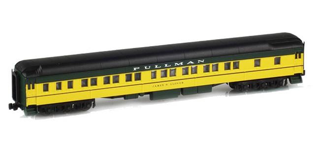 AZL 71205-1 Pullman CNW 8-1-2 Heavyweight Sleeper Car | JAMES N. GLOVER