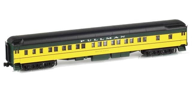 AZL 71205-3 Pullman CNW 8-1-2 Heavyweight Sleeper Car | SOUTH PASS