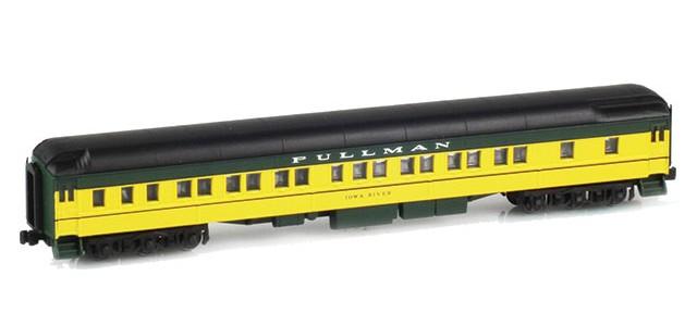 AZL 71205-9 Pullman CNW 8-1-2 Heavyweight Sleeper Car | IOWA RIVER