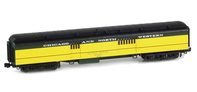 AZL 71605-2 CNW AF268-Z05E Baggage RAILWAY EXPRESS AGENCY #8766