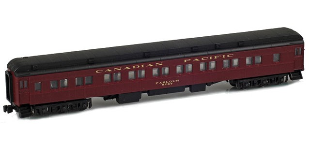 AZL 71441-1 CANADIAN PACIFIC 28-1 Parlor Car #6757