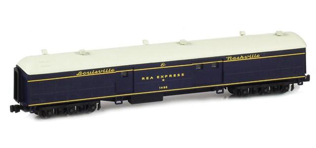 AZL 71609-2 Louisville & Nashville Baggage REA EXPRESS #1486