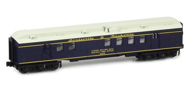 AZL 71909-1 Louisville & Nashville RPO US MAIL RAILWAY POST OFFICE #1107