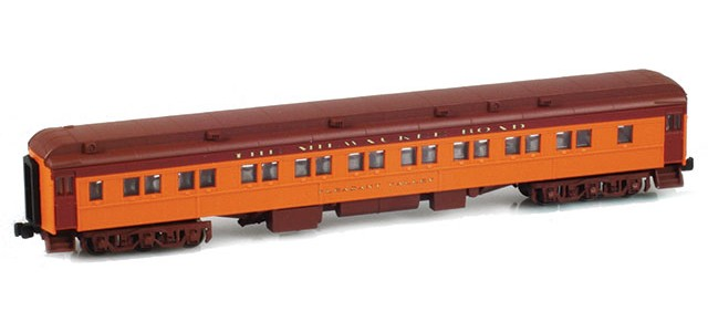 AZL 71431-1 28-1 THE MILWAUKEE ROAD Parlor Car | PLEASANT VALLEY