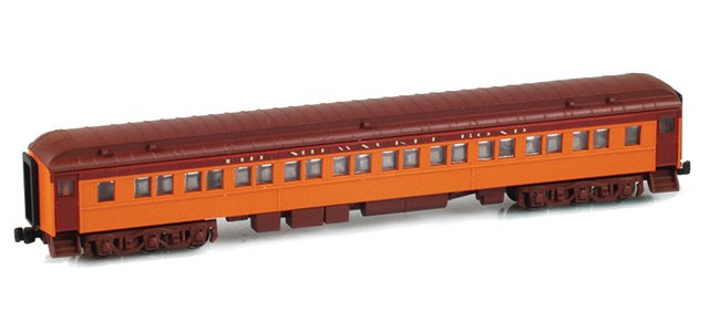 AZL 71731-0 THE MILWAUKEE ROAD Paired Window Coach