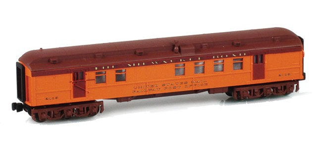 AZL 71931-1 THE MILWAUKEE ROAD AF268-Z10B RPO US MAIL RAILWAY POST OFFICE