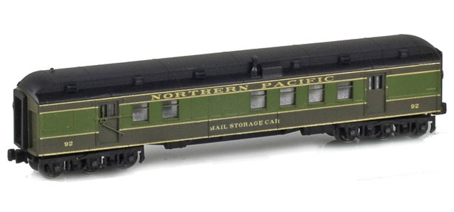 AZL 71933-2 RPO NORTHERN PACIFIC RPO RPO MAIL STORAGE CAR