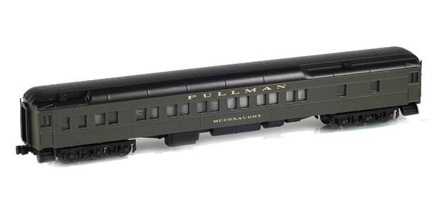 AZL 71001-3 12-1 Pullman Sleeper PS Green | McConaughy