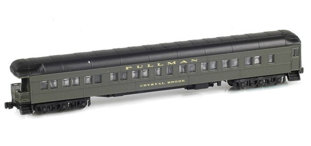 AZL 71801-1 PULLMAN Observation Car | CRYSTAL BROOK