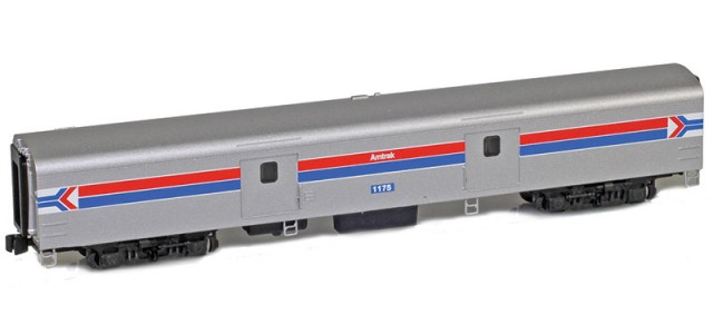 AZL 73650-1 Amtrak Baggage Lightweight Passenger Car #1175