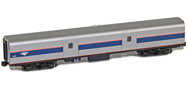 AZL 73650-7 Amtrak Baggage Lightweight Passenger Car | Phase IVb #1255