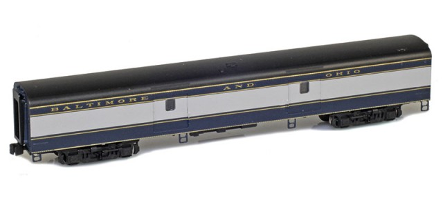 AZL 73610-0 BALTIMORE AND OHIO Baggage Lightweight Passenger Car