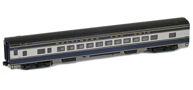 AZL 73710-0 BALTIMORE AND OHIO Coach Lightweight Passenger Car