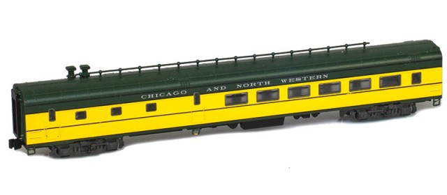 AZL 73505-0 CHICAGO AND NORTH WESTERN Diner Lightweight Passenger Car