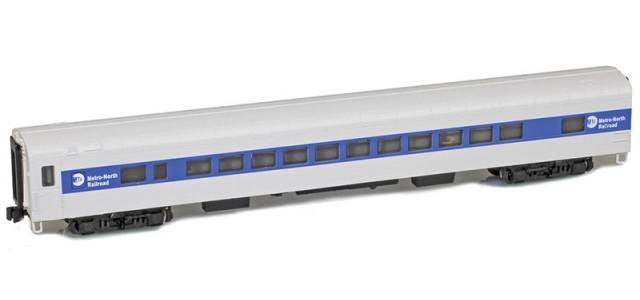 AZL 73753-0 Commuter Railroad Coach Lightweight Passenger Car