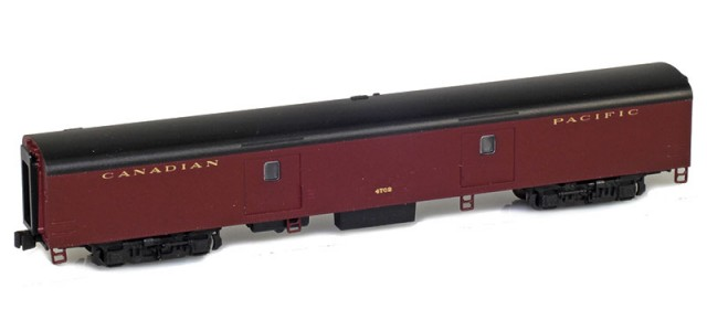 AZL 73641-1 Canadian Pacific Baggage Lightweight Passenger Car #4702