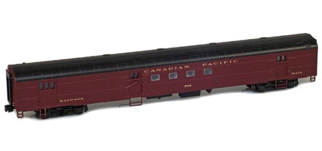 AZL 73941-1 Canadian Pacific Mail Lightweight Passenger Car #3745