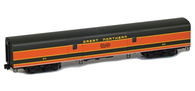 AZL 73615-1 GREAT NORTHERN Baggage | RAILWAY EXPRESS AGENCY #271