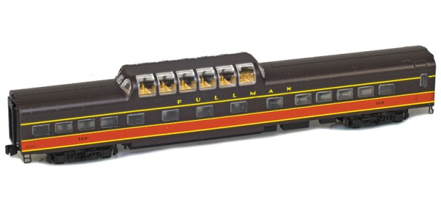 AZL 73420-1 IC Panama Limited Dome #308 Lightweight Passenger Car