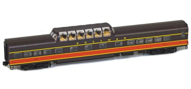 AZL 73420-2 IC Panama Limited Dome #313 Lightweight Passenger Car