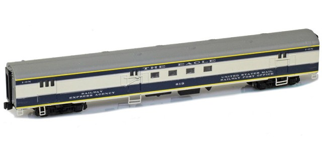 AZL 73914-2 MISSOURI PACIFIC | THE EAGLE Mail I-GN #813 Lightweight Passenger Car