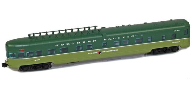 AZL 73833-2 CB&Q | North Coast Limited Observation #483 Lightweight Passenger Car