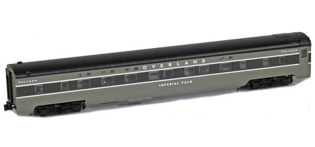 AZL 73002-4 OVERLAND Sleeper 4-4-2 IMPERIAL PALM Lightweight Passenger Car