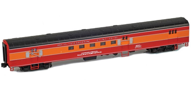 AZL 73947-1 SOUTHERN PACIFIC UNITED STATES MAIL RAILWAY POST OFFICE Lightweight Passenger Car #5000