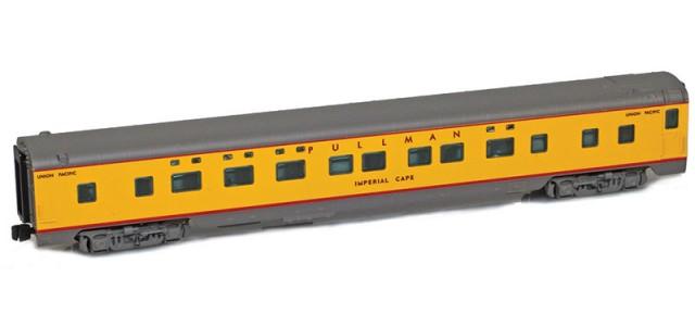 AZL 73008-1 UP Sleeper 4-4-2 PULLMAN IMPERIAL CAPE Lightweight Passenger Car
