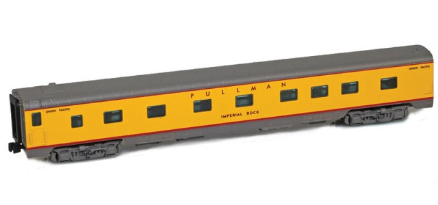 AZL 73008-4 UP Sleeper 4-4-2 PULLMAN IMPERIAL ROCK Lightweight Passenger Car