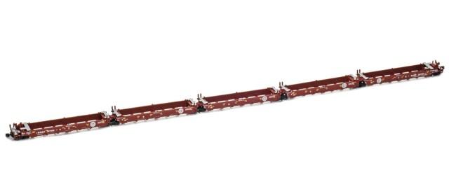 AZL 906509-4 BNSF MAXI-I Set 237545 | Herald