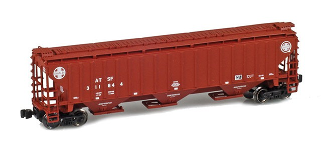AZL 91923-1 ATSF (Brown w/Cross logo) PS-2 Covered Hopper #311644