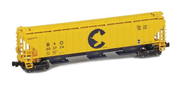 AZL 91924-1 B&O Chessie PS-2 Covered Hopper #603734