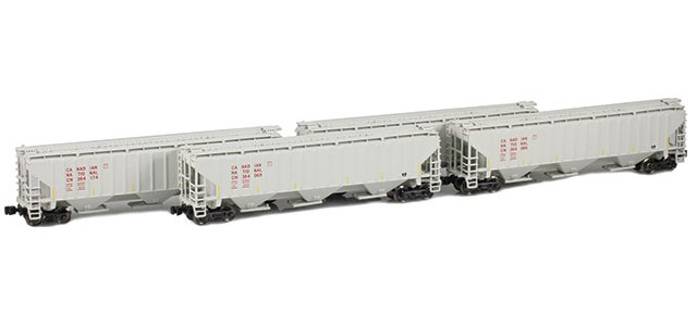 AZL 90927-1 Canadian National PS-2 Covered Hopper | 4-Car Set