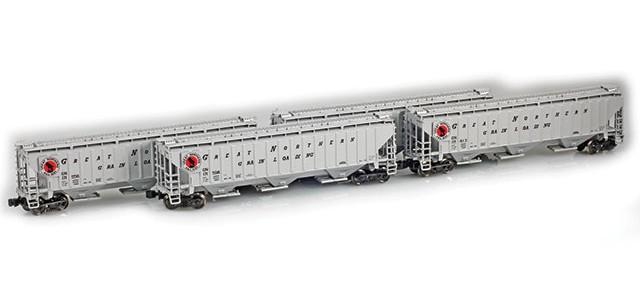 AZL 90929-1 GN PS-2 Covered Hopper | 4-Car Set