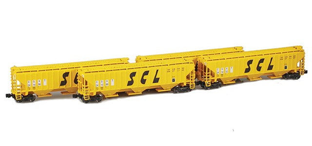 AZL 90936-1 SCL (CSXT) PS-2 Covered Hopper | 4-Car Set