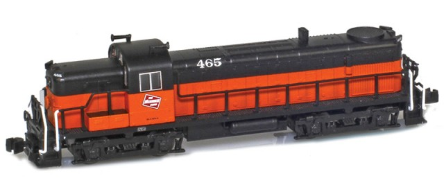 AZL 63307-3 Milwaukee Road RS-3 #470