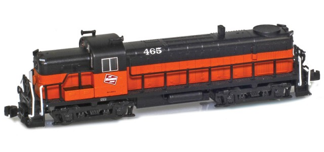 AZL 63307-1 Milwaukee Road RS-3 #465