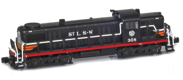 AZL 63313-2 SSW 'Cotton Belt' RS-3 #309
