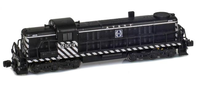 AZL 63305-3 ATSF RSD-4 #2105